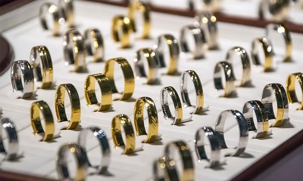 Joias de ouro 18k