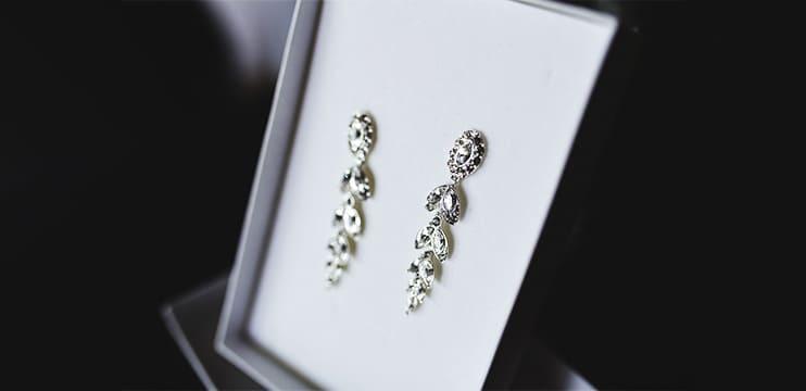 Brincos de prata